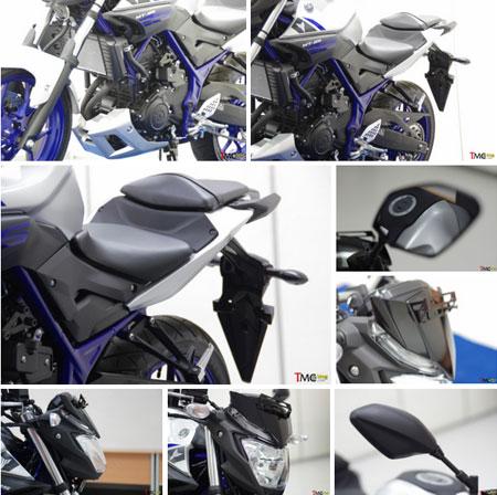 gambar Yamaha MT-25 Silver Blue