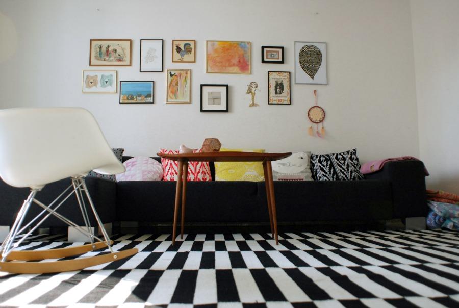 Frau svensson: nyt gulvtæppe i stuen / new living room carpet