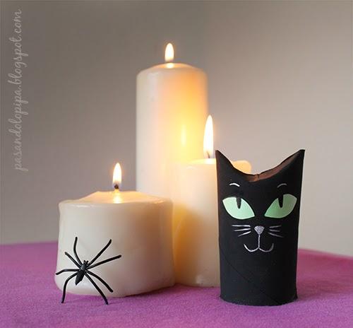 pasandolopipa | gato negro DiY Halloween