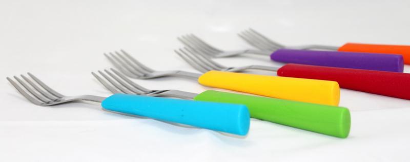 OX-601 Rainbow Fork Set Oxone 6Pcs