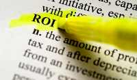 ROI = Return on Investment