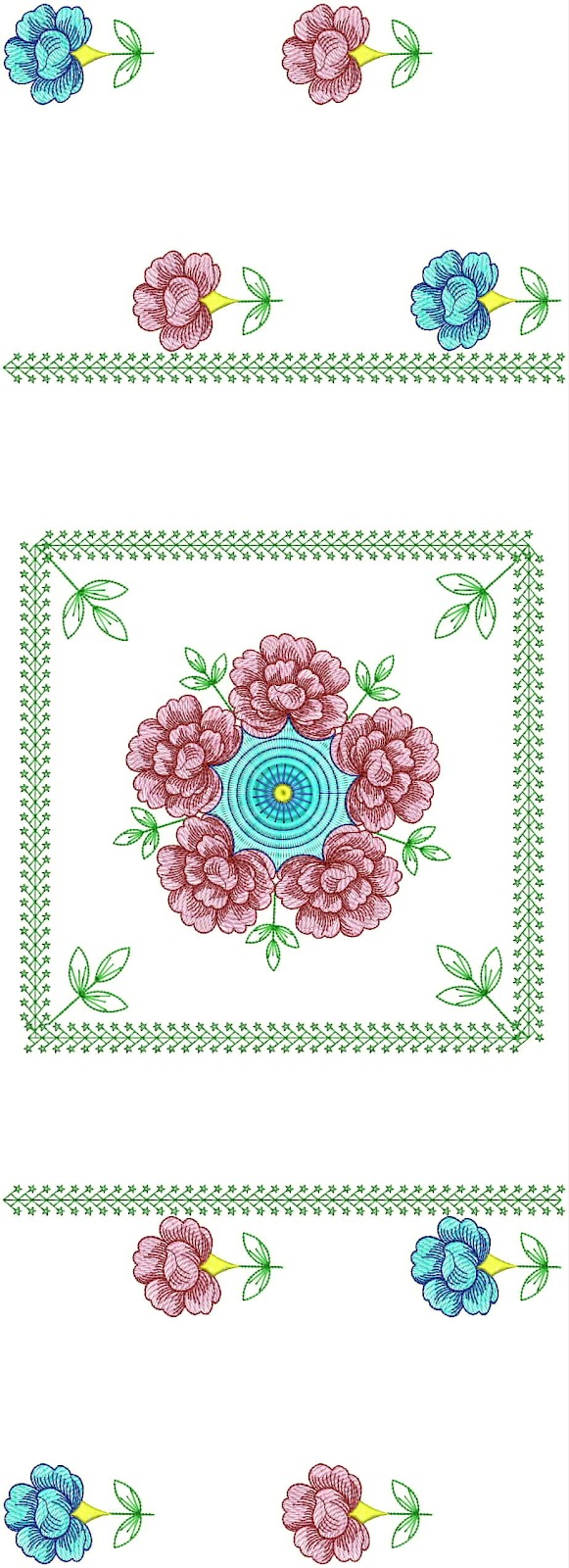 Embdesigntube table clothing machine embroidery designs