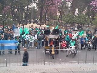 ATE-CTA marchó en Tucumán