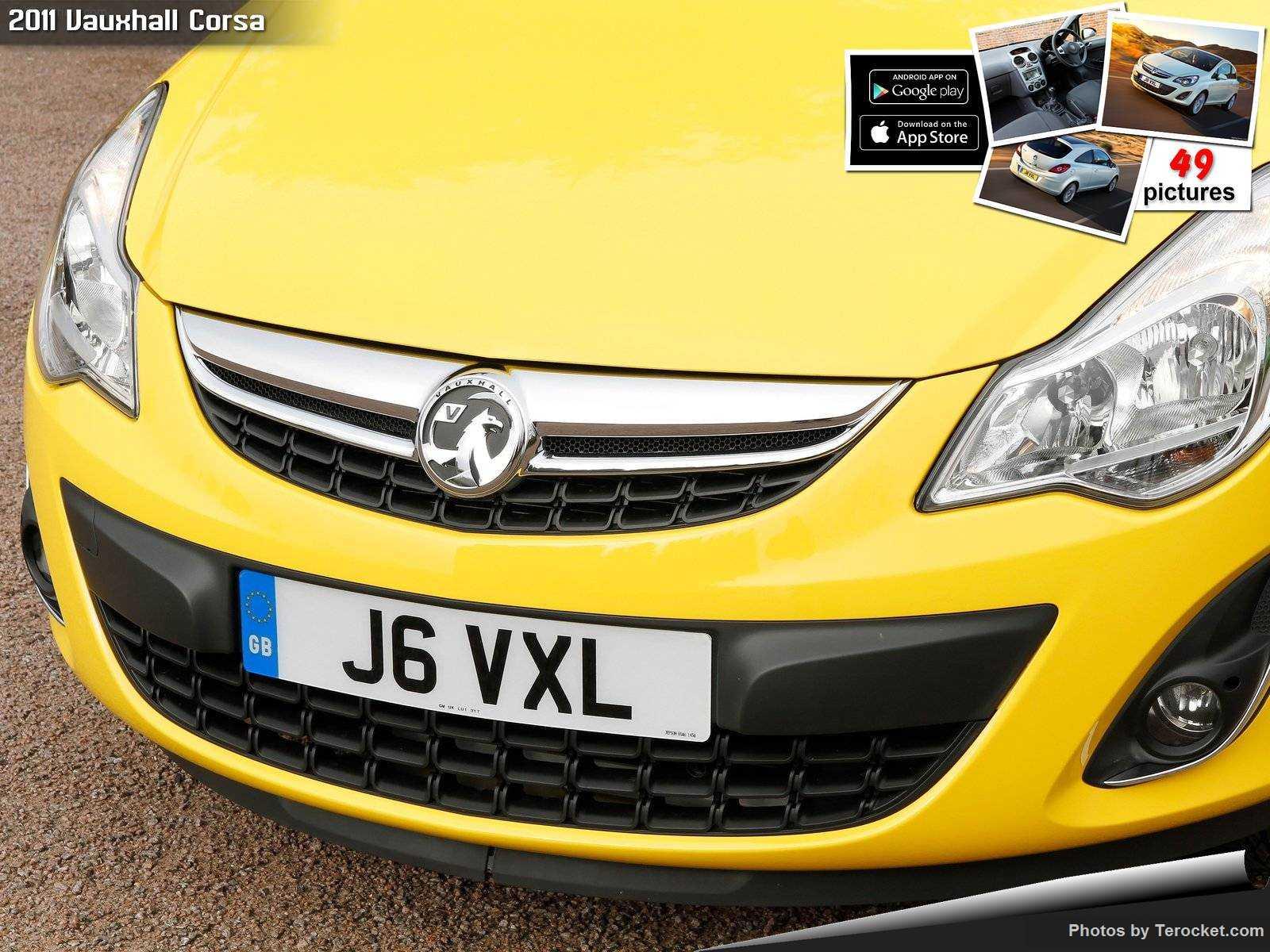 Hình ảnh xe ô tô Vauxhall Corsa 2011 & nội ngoại thất