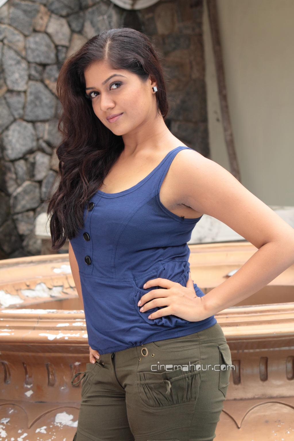 Meghana Raj1 - Meghana Raj In Narasimhan IPS Movie Stills