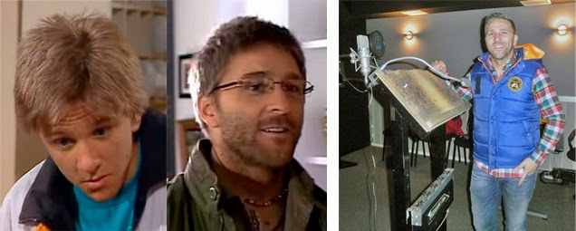 Antes y después de Quique de Médico de familia, actor de doblaje, actualidad
