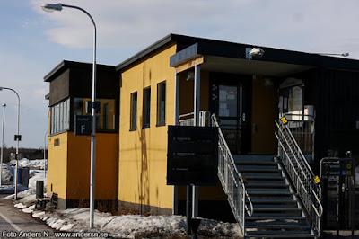 Kiruna nya station