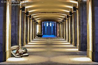 Composición fotográfica - Les Rambles de Barcelona