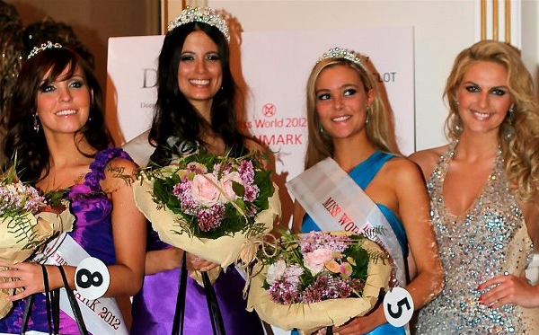 Miss World Denmark 2012 winner Iris Reuben Adler Thomsen