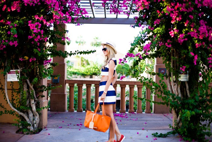 ASOS, Stripe, High-Waisted, Shorts, Short Set, Crop Top, Wide Stripe, Summer, Orange, Tote, Elaine Turner, Strand, Cheetah, Sneakers, Keds, Pointer, Sneaker, Kate Spade, Kate Spade x Keds, JCrew, Panama Hat, O'Neill, Hat, A Little Dash of Darling, Caitlin Lindquist, Kylee Patterson, Arizona, Scottsdale, Phoenix, Fashion Blog, Fashion Photographer, Photography, Lifestyle Blog, Fashion Blogger, Beauty Blog, Street Style,