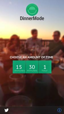 تطبيق DinnerMode لمنعك من تصفح هاتفك أثناء الجلوس مع العائلة