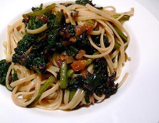 Recipe beet greens pasta