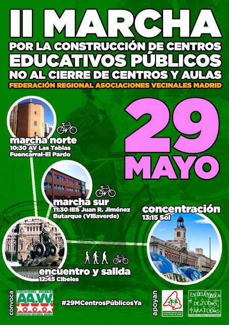 29 Mayo II Marcha por la Enseñanza Pública