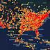 Mapa-múndi mostra todos os avistamentos de OVNIs desde 1933