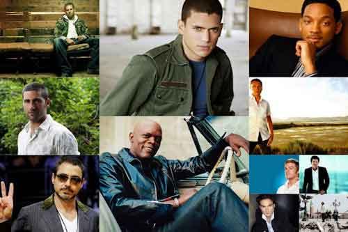 Hombres, actores y artistas III (para todas las mujeres)