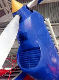 Воздухозаборник радиатора и кок винта АНТ 25