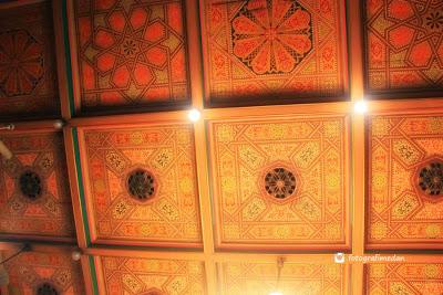 atap istana maimun fotografi medan