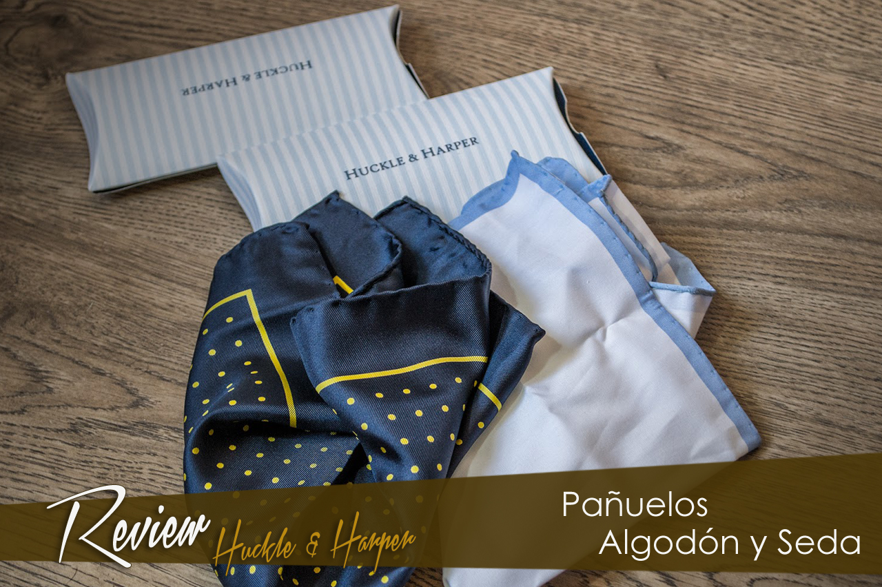 Review pañuelos de Huckle & Harper.