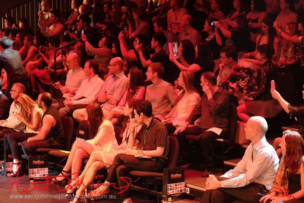 Crowd, Raffles College 2012 Graduate Fashion Show Carriageworks, Everleigh Sydney