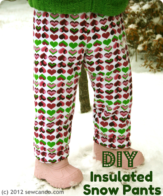 DIY Snowpants