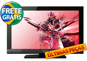 "tv Ctis Digital: TV LCD 32"" Full HD c/ Conversor Digital por R$ 1.399,00 ou 12X de R$ 116,58"