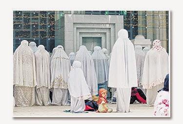 perkongsian tentang cara bawa anak terawih di masjid