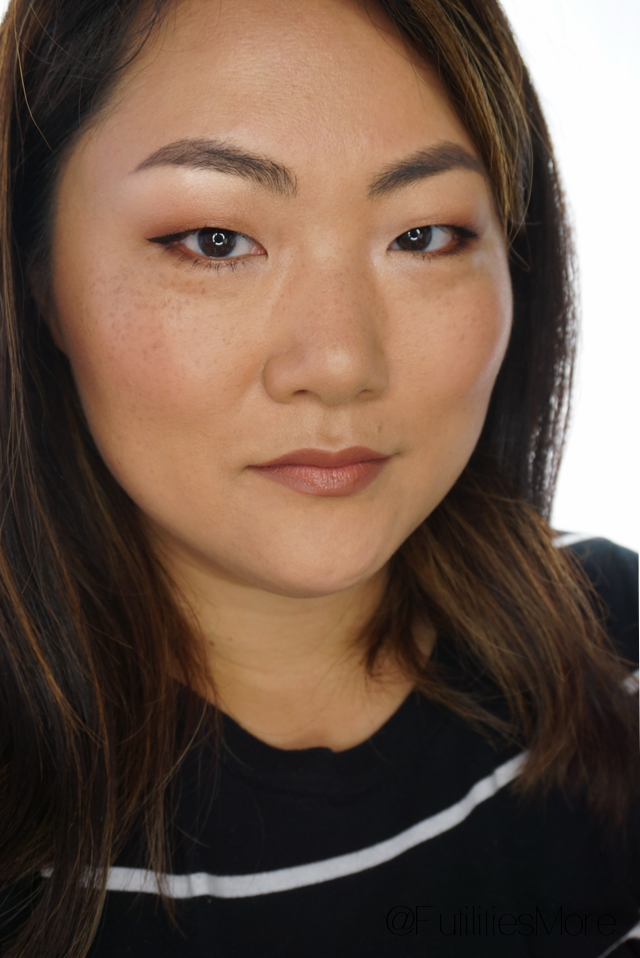 Office / Job interview makeup look, monolid, asian, asian eyes, makeup geek, anastasia beverly hills, monolids, neutral makeup