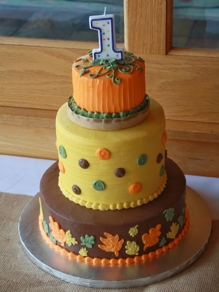 Fall 1st Birthday Cake Fall Pumpkin 1st Birthday Cake