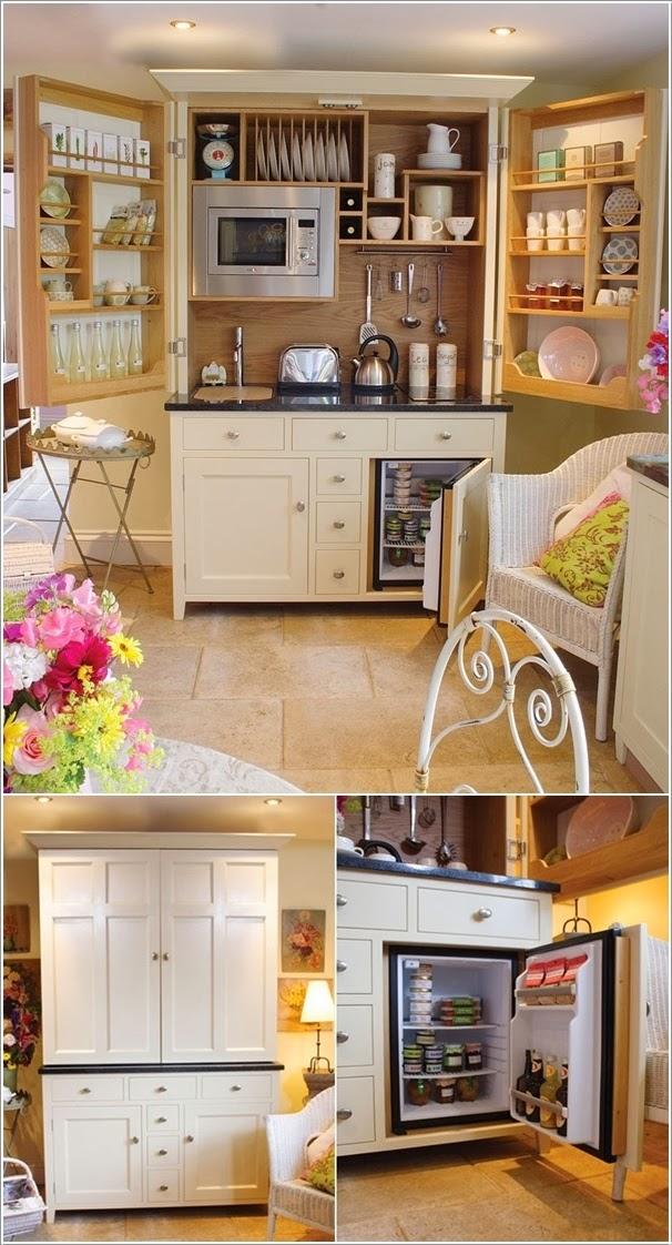 Idées ingénieuses pour les petits espace ~ Décor de Maison