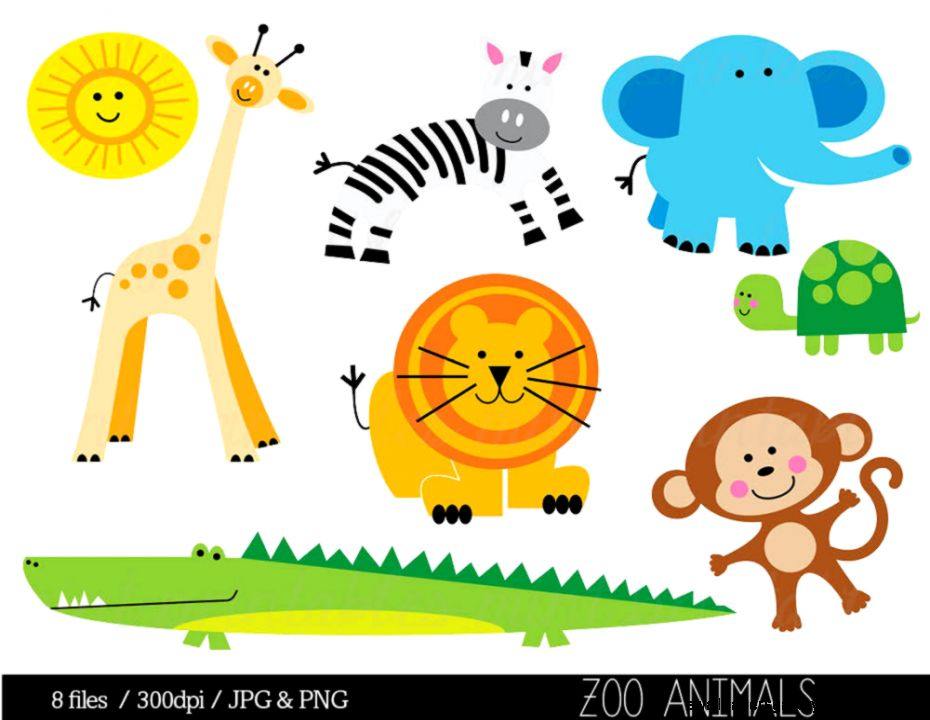 animals clipart on Ets...