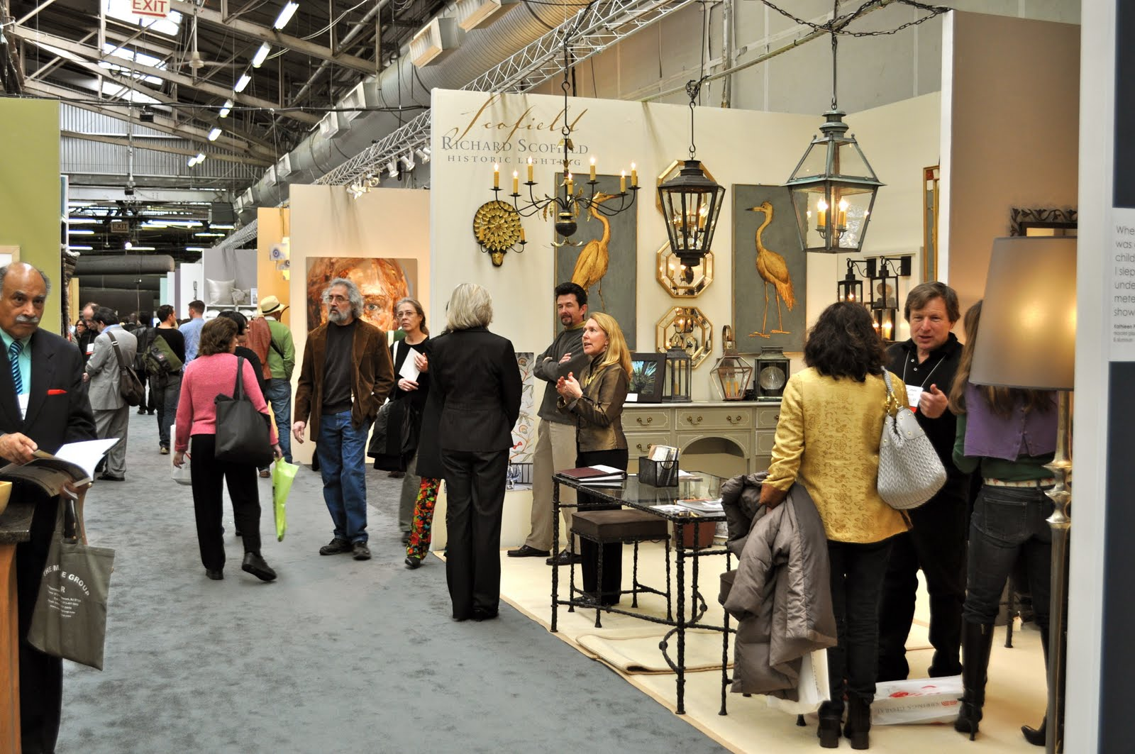 The showroom scofield historic lighting architectural for Architectural digest show