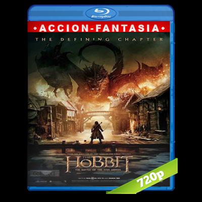 El Hobbit 3 (2014) BRRip 720p Audio Trial Latino-Castellano-Ingles 5.1