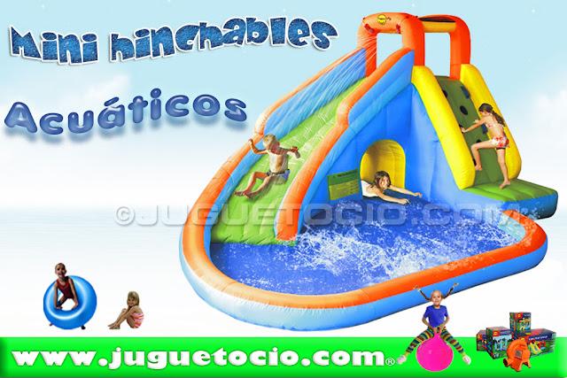 Hinchables infantiles happy hop juguetocio - Piscinas hinchables infantiles ...