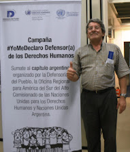 Yo me declaro defensor/a de los Derechos Humanos