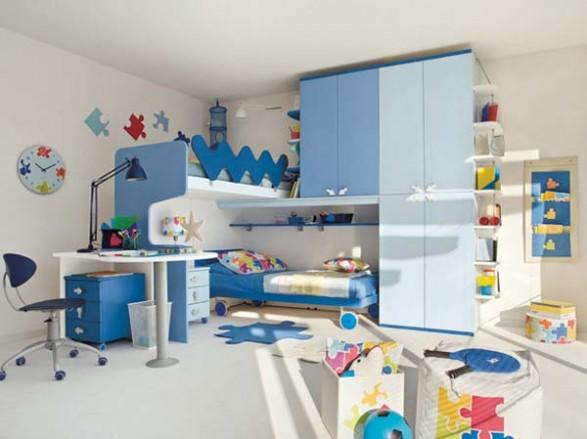 Dormitorios minimalistas para ni os habitaciones - Cuartos infantiles nino ...