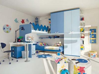 Dormitorios minimalistas para ni os habitaciones infantiles for Habitaciones infantiles pequenas para dos