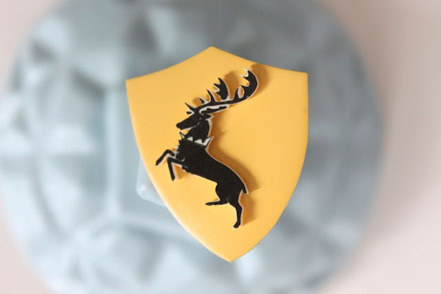 DIY Tutorial - Baratheon sigil badge