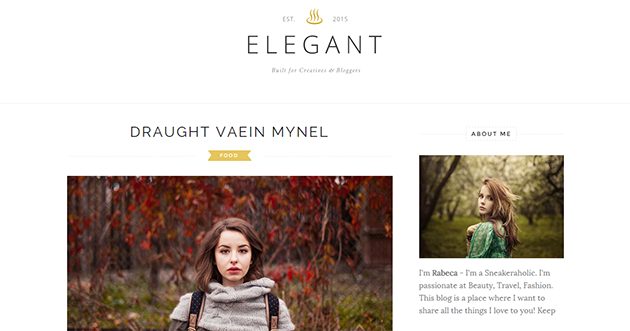 Elegant Blogger Templates Elegant Clean Blogger Template | Blogger Templates Gallery