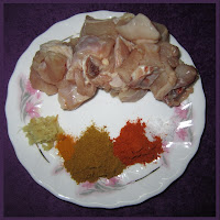 Butter Chicken Ingredients (marinate)