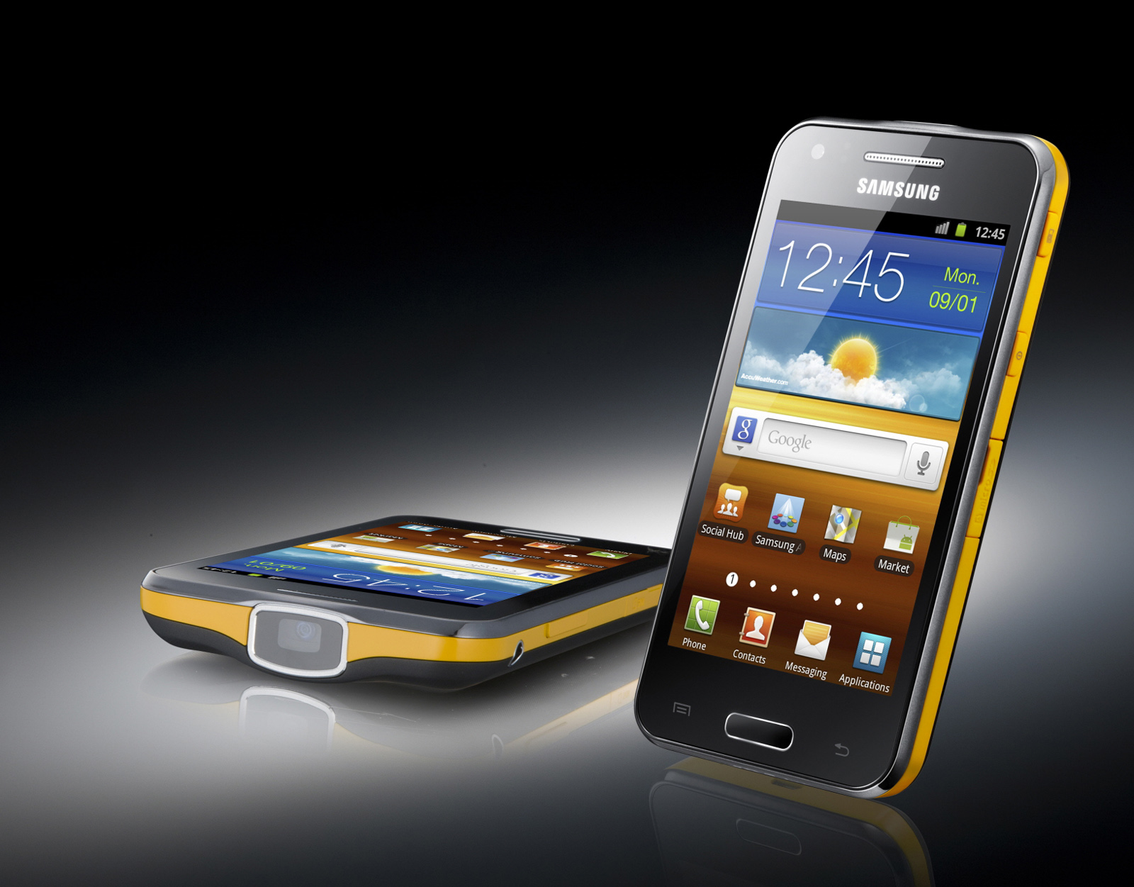 samsung galaxy beam smartphone with portable projector. Black Bedroom Furniture Sets. Home Design Ideas