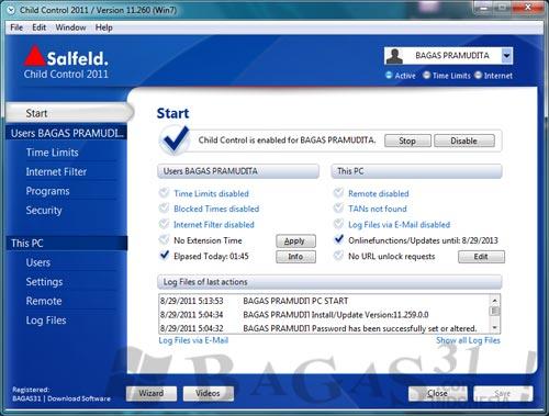 Salfeld Child Control 2011 + Keygen 2