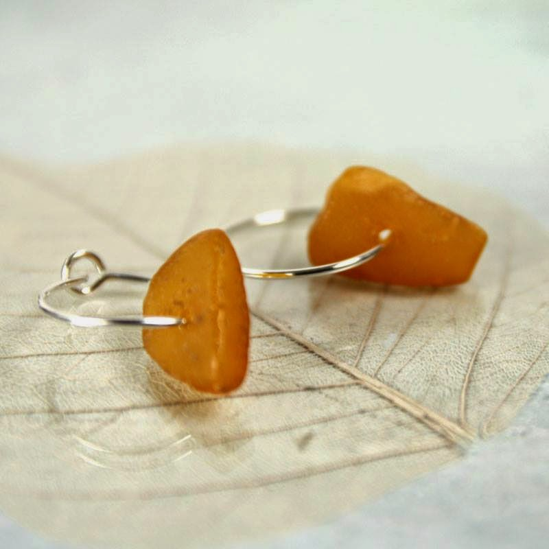 amber earrings nanfan jewellery bird's yard sheffield