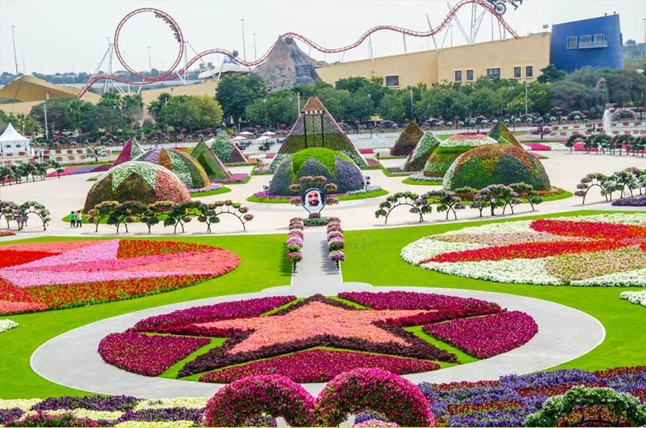 Travel Trip Journey Dubai Miracle Garden World Biggest