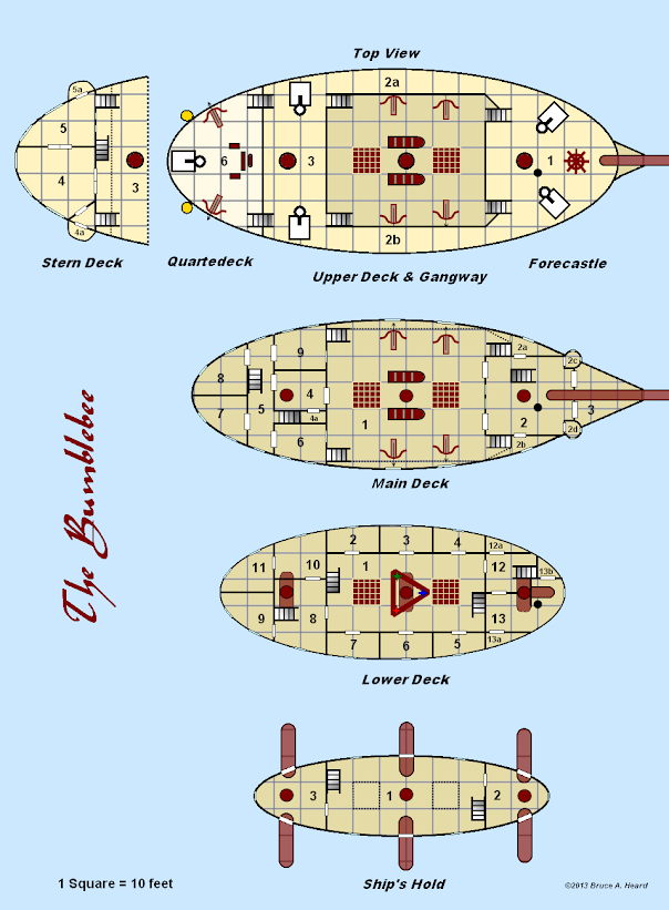 Mystara Alphatia Skyship