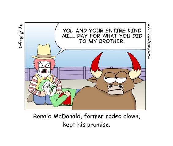 Ronald McDonald Keeps His Promise