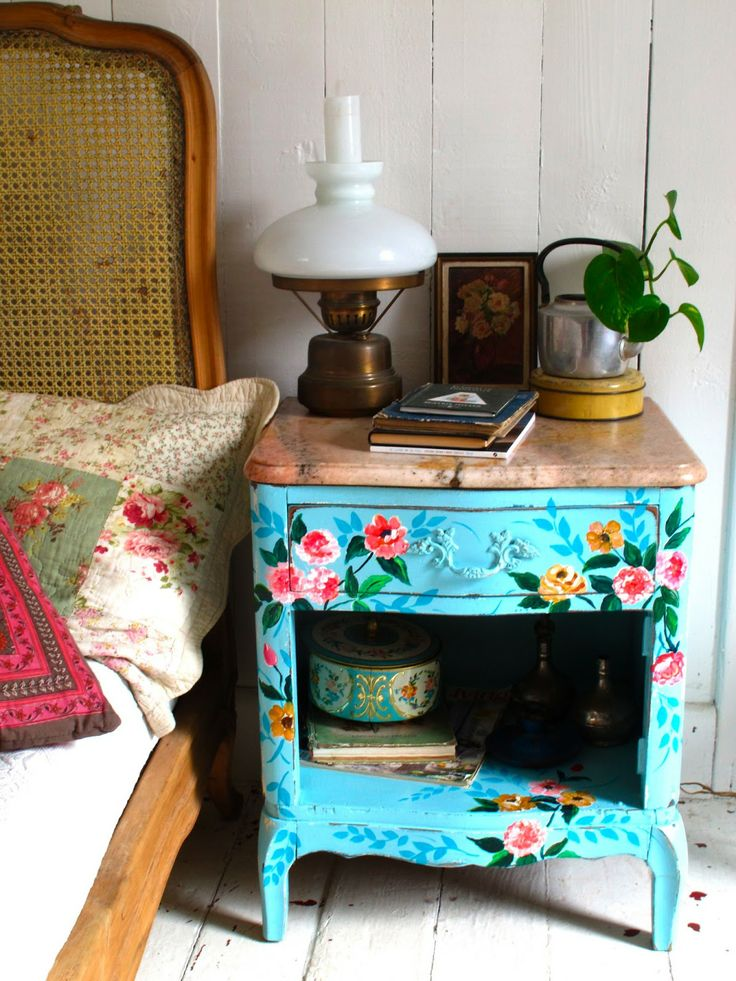 Dot Painted Furniture
