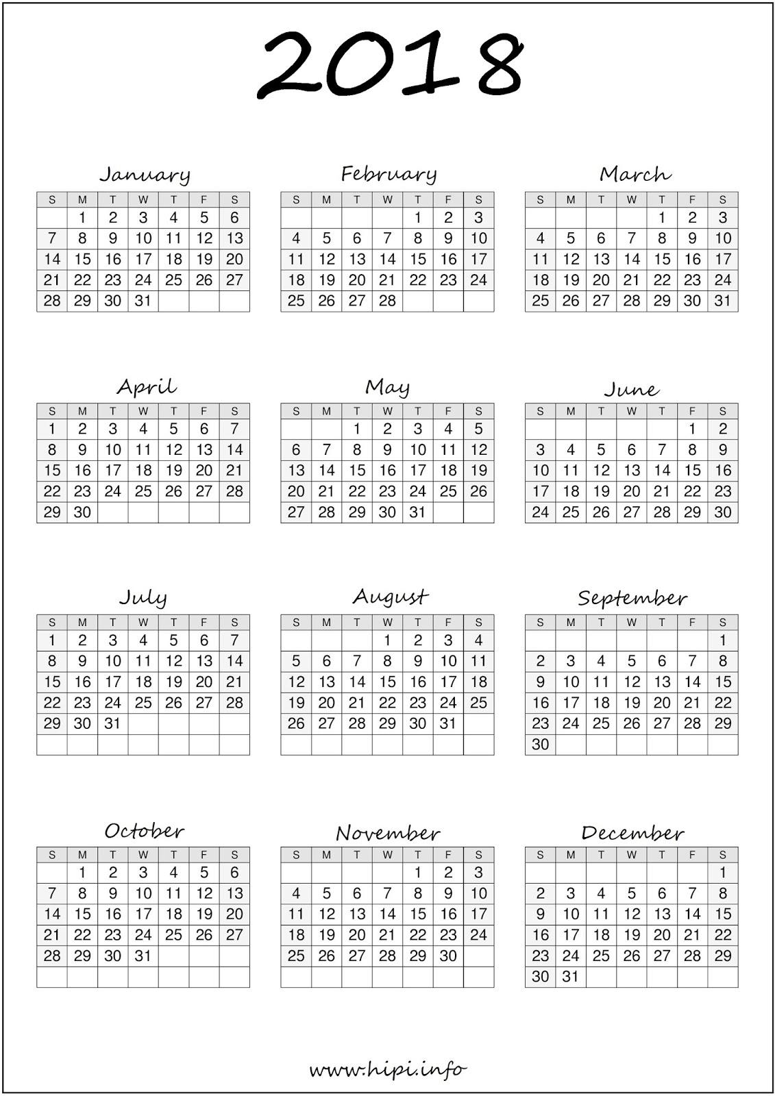 Twitter Headers / Facebook Covers / Wallpapers / Calendars: 2018 ...
