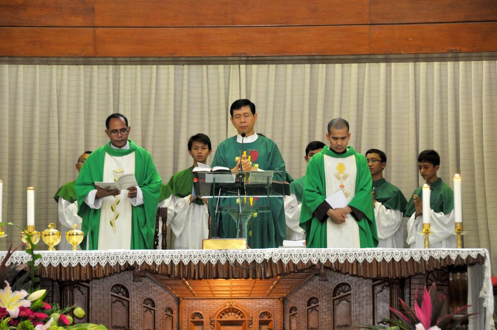 Misa Pelantikan DP tanggal 25 Januari 2014
