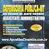 Apostila Defensoria Pública-DPMT -  Assistente Apoio Administrativo