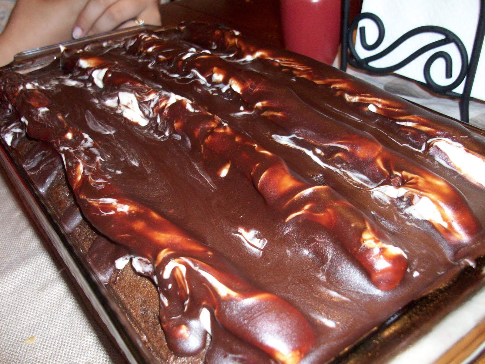 Chocolate lumpy bumpy cake recipe uk